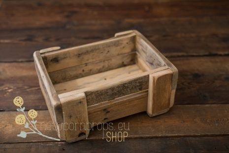 Recycle wood crate
