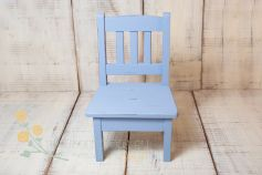 Little wooden chair - distressed colour