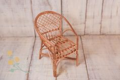 Little wicker chair - natural colour