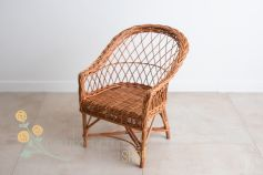 Little wicker armchair - natural colour