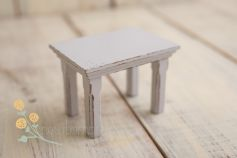 Tiny teatable - distressed colour