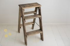 Recycled wood ladder - vintage
