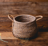Water hyacynth basket